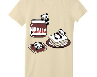 Pantella Chocolate Hazelnut Spread Panda T-Shirt