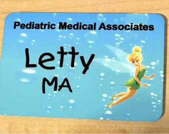 Personalized Name Badge in Full color