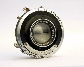 Carl Zeiss Jena Tessar f/4.5 105mm Lens