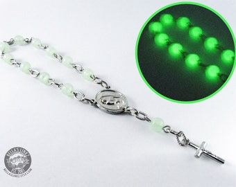 Single Decade Hand Rosary - Glow in the Dark