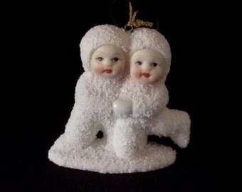 Snowbabies Figurine - Ornament - Christmas Home Decor