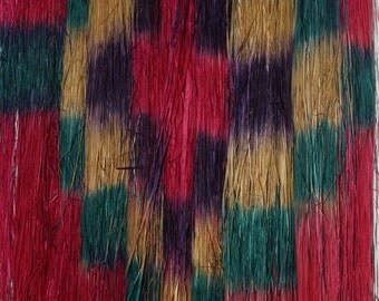Vintage Handmade Grass/Straw Hula Skirt Circa 1940's