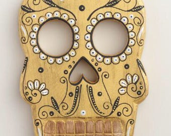 Day of the Dead wooden Wall Art