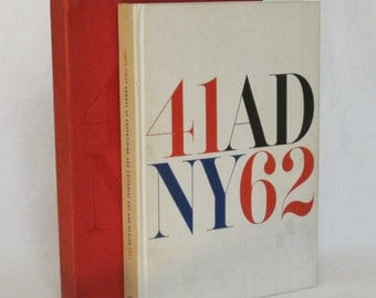 1962-41st Annual of Advertising, Editorial Art & Design In Slipcase