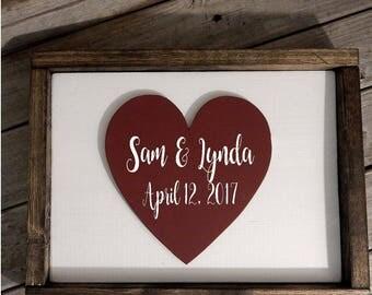Wedding Sign... Wood decor... Wedding gift