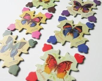 Floss Bobbins | Thread Bobbin, Embroidery Floss Holder, Floss Organizer - Maison Sajou Butterflies