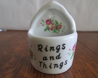 Vintage Rings and Things Pocket Holder