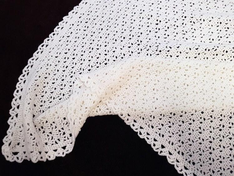Crochet Baby Blanket Lace Pattern : CROCHET Pattern Baby Blanket Pattern Easy Lace by ...