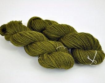 Handspun 2 ply Peruvian Wool yarn