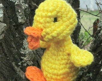 Crochet Spring Duckling,Amigurumi Duckling,Crochet Toy,Easter Gift,Crochet Duckling,Easter Duckling,Crochet Spring Duckling,Duckling Doll