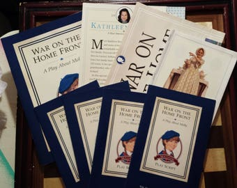 The American Girls Collection, Molly's Theater Kit, A Play About Molly, Vintage