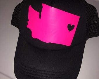 State Love Trucker Hat