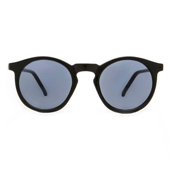 Round Black Sunglasses, Deadstock P3 Glasses, John Lennon Sunglasses, O'Malley Glasses, Great Gatsby Sunglasses