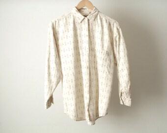 VERSACES style 90s baroque color block DIAMOND striped oversize button down shirt
