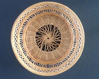 SALE / woven wicker basket