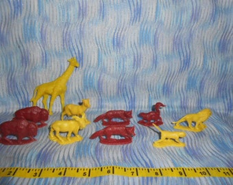 Vintage Animals From Noah's Ark Playset