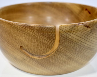957 Yarn bowl, made from Myrtlewood