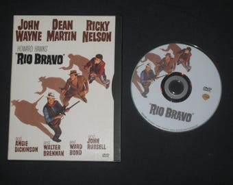 Rio Bravo DVD John Wayne, Dean Martin, Ricky Nelson, Angie Dickinson, Walter Brennan