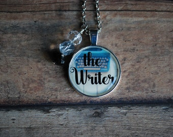 "Bad Mommy ""The Writer"" Inspired Necklace/Keychain"