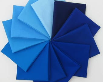 Kona Cotton - Sky Gazer Palette - 12 Fat Quarters - 3 Yards Total