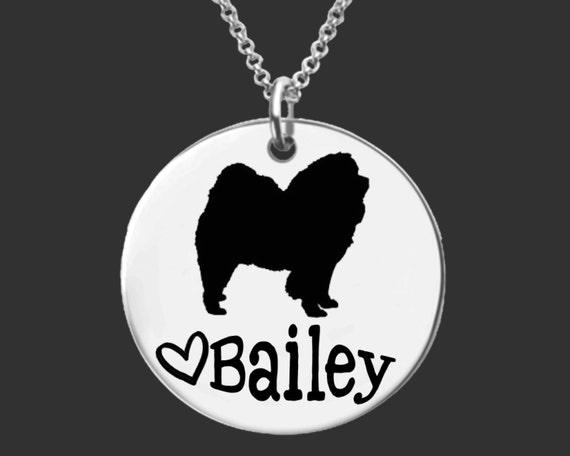 Chow Chow Necklace | Chow Chow Jewelry | Personalized Dog Necklace | Personalized Gifts | Korena Loves