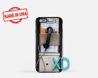 Pay Phone iPhone Case, Old Phone iPhone Case, Retro iPhone 8 Case, iPhone 6s Case, iPhone 7 Case, Phone Case, iPhone X Case, SE Case