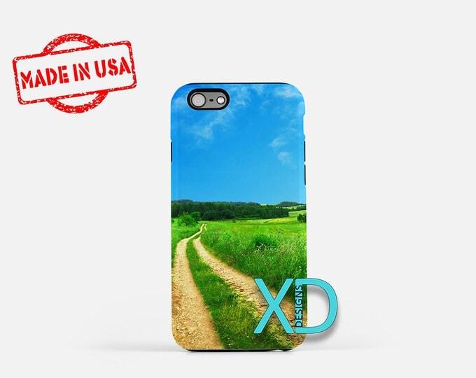 Farm iPhone Case,  Field iPhone Case, Grass iPhone 8 Case, Path, iPhone 6s Case, iPhone 7 Case, Phone Case, iPhone X Case, SE Case