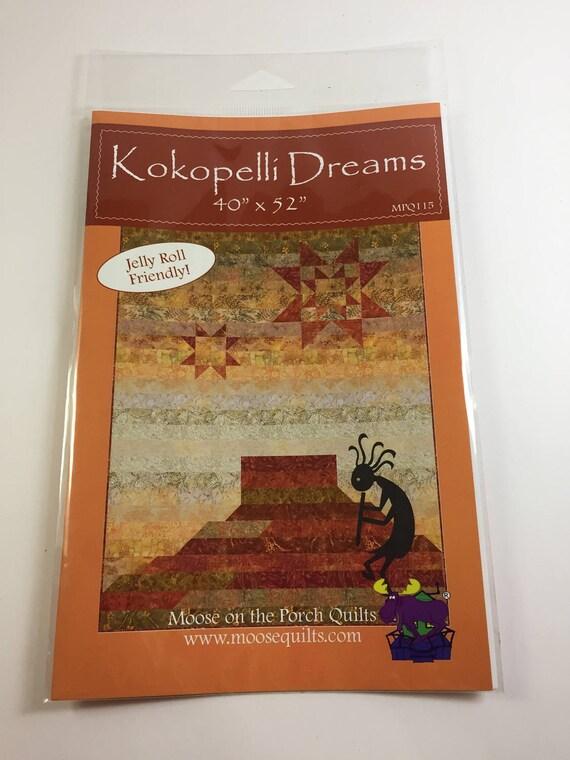 Kokopelli Dreams Pattern - Moose on the Porch Quilts - MPQ115 ... : kokopelli quilt pattern - Adamdwight.com