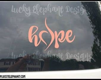 Neda Hope Car Decal - Neda Hope Vinyl Decal - Neda Hope Symbol - Neda Symbol Vinyl Decal -  Neda Decal - Many Colors Available!