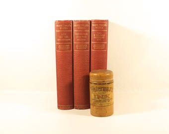 Antique MARK TWAIN  -  Three Book Set - The Prince and The Pauper - Life on the Mississippi - The 30,000 Bequest - 1906