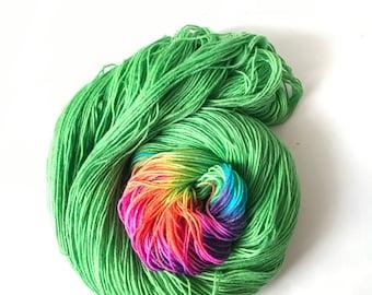 Lucky, Rainbow Stripe Yarn