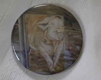 Pig-A-Boo: Magnet