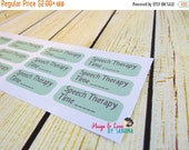 Sale Speech Therapy Planner Sticker - Size Customize-able