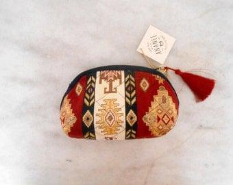Kilim Cosmetic Bag,MakeUp Bag,Gift idea