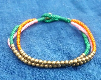 Simple Colorful Beaded Anklet Ankle Bracelet