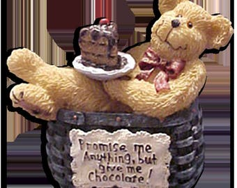 Boyds Bear Basketberrie SWEETIE Bear NIB