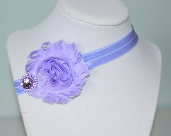 Purple Infant Headband