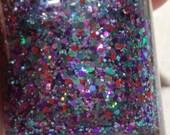 Custom glitter topper