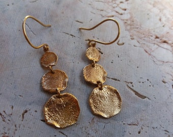 High Quality Gold Plated earrings 18K Gold Plated Clouds Earrings