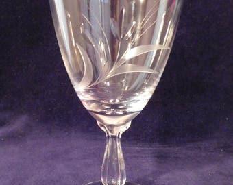 """Fostoria SPRAY Water Goblet 6 1/8"""""""