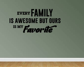 Wall Decal Family Vinyl Decal Quote Wall Stickers Family Wall Decals Family Vinyl Wall Decals For The Wall (JP278)