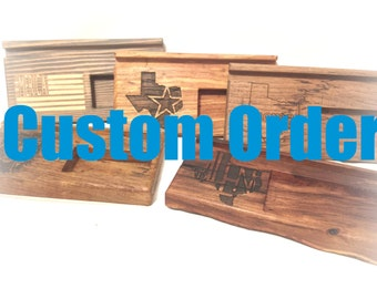 Custom Docking Station Order