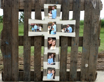 cross picture frame wooden frame wall art finished decor