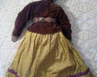 Navajo Native American Doll Vintage