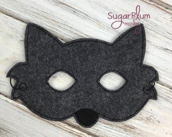 Wolf Mask, Teen Wolf, Children's Felt Wolf Mask