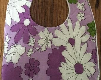 Handmade vintage fabric bib