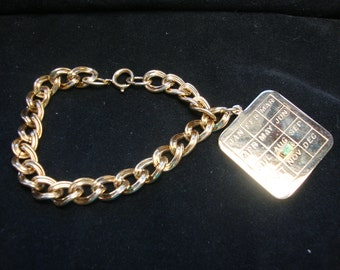 Charm Bracelet for August Free Shipping