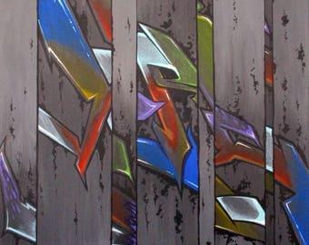 Mirrored - Original Painting -