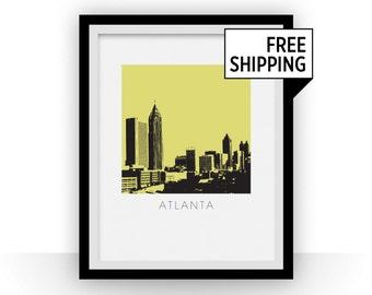 Atlanta Art Poster