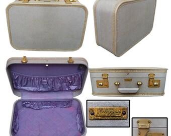 Vintage 50s JC Higgins Small Suitcase / Pin-up Suitcase / Burlesque Suitcase / Rockabilly